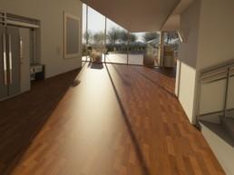Casa contemporánea de estilo minimalista